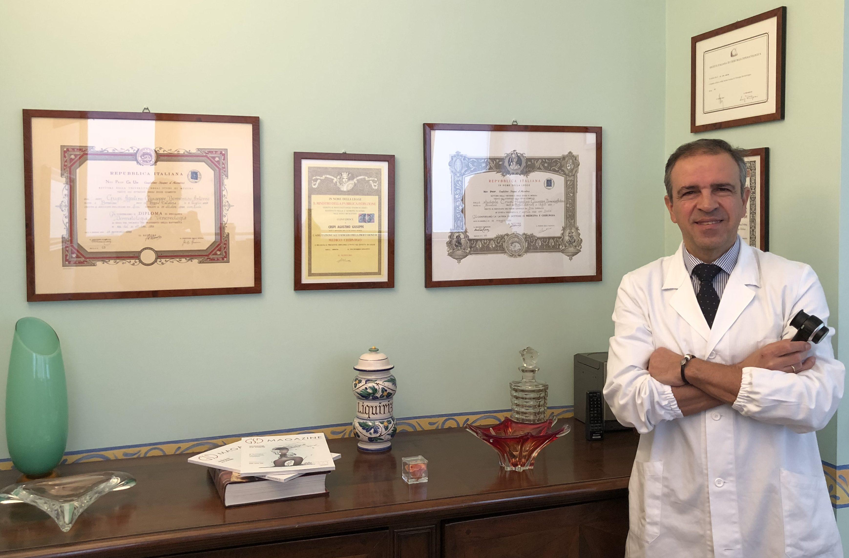 dermatologo novara - Crupi Agostino