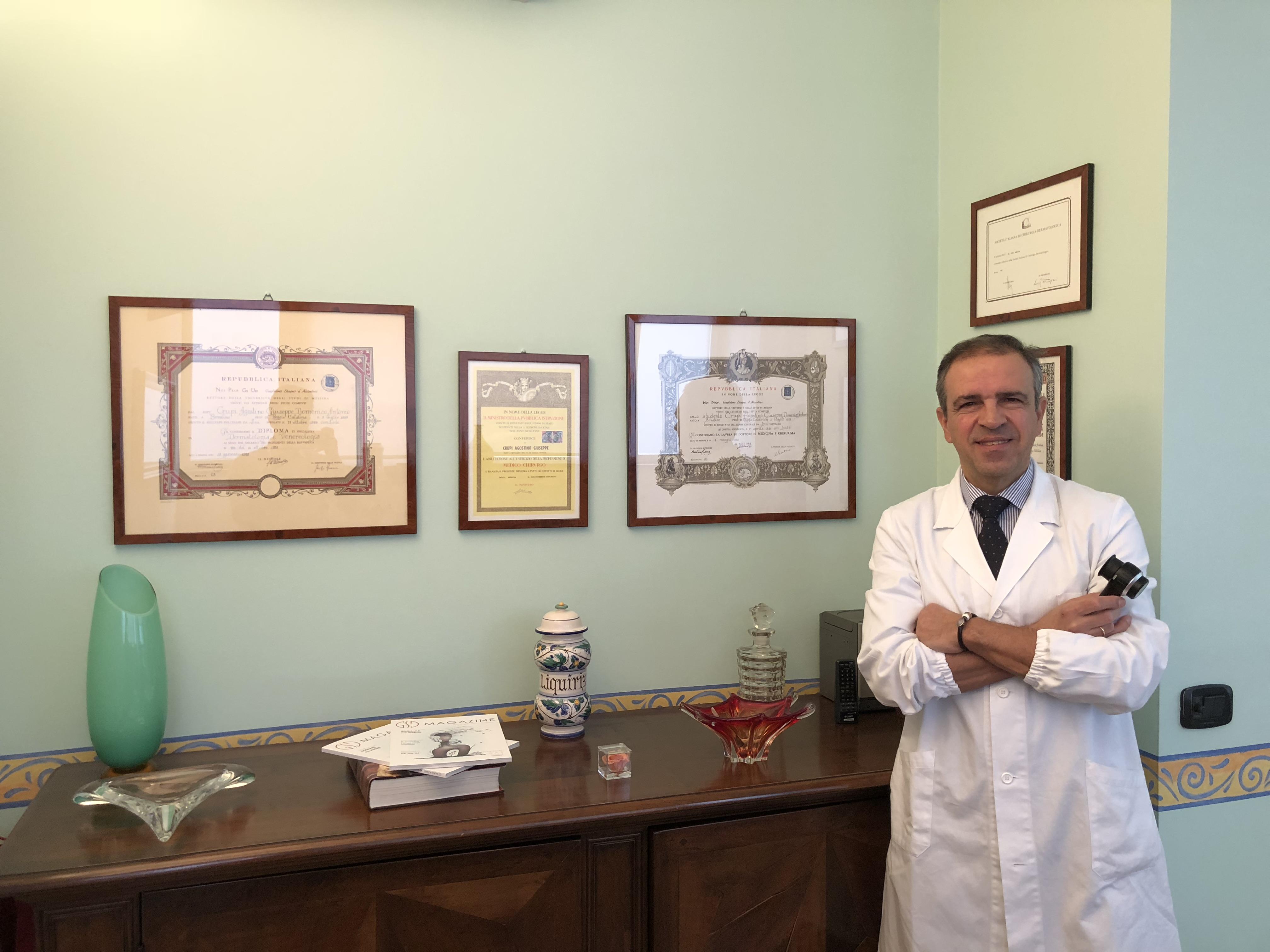 Informazioni dermatologo crupi agostino
